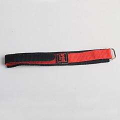 お買い得  メンズ腕時計-トレンドスポーツスタイルのナイロンの子供赤い黒の時計バンド