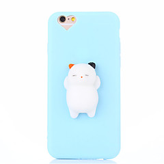 Case For iPhone 7 Plus 7 Squishy DIY Stress Relief Case Back Cover Case Cute 3D Cartoon Soft TPU Case for iPhone 6 6s 6 Plus 6s Plus