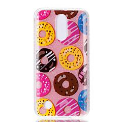 Θήκη για lg k10 (2017) k8 (2017) διπλή υπόθεση imd πίσω κάλυψη υπόθεση ντόνατ μοτίβο soft tpu