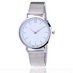 preiswerte Tolle Angebote auf Uhren-Damen Quartz Armbanduhr Chinesisch Armbanduhren für den Alltag Legierung Band Charme Freizeit Kleideruhr Elegant Modisch Schwarz Silber