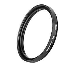 Andoer 49mm uv ultraviolet filterlens beschermer voor Canon Nikon DSLR camera