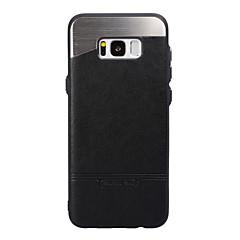 Dla samsung galaxy s8 plus obudowa s8 pokrywa tylna obudowa obudowa telefonu solidna kolorystyka twarda metalizowana dla Samsunga galaxy