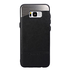 Voor Samsung Galaxy S8 Plus S8 case cover plating achterkant telefoon hoesje vaste kleur hard metal voor Samsung Galaxy S7 rand s7 s6 rand