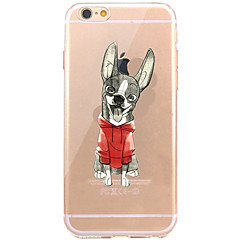 voordelige iPhone 5S / SE hoesjes-Hoesje voor iphone 7 6 hond tpu zacht ultra-dun behuizing hoesje iphone 7 plus 6 6s plus se 5s 5 5c 4s 4