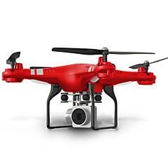 billiga Quadcopter-RC Drönare SHR/C HR SH5 4 Kanaler 6 Axel 2.4G Med 720P HD-kamera Radiostyrd quadcopter FPV LED-belysning Retur Med Enkel Knapptryckning