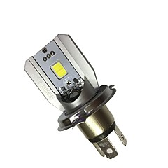 Недорогие Фары для мотоциклов-H4 Мотоцикл Лампы 6W COB 800lm Светодиодная лампа Налобный фонарь