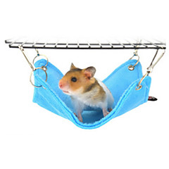 Hamster Plush Beds Blue Pink