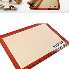 1 Stuk Bak- en gebak benodigdheden Rechthoekig Brood Koekje Taart Pizza SiliconenBaking Tool Milieuvriendelijk Hoge kwaliteit Voor de