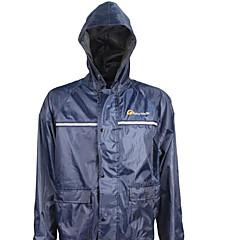 Недорогие Мотоциклетные куртки-Дождевик ПВХ Все Все сезоныВодонепроницаемый Без запаха Ветроустойчивый Откидной Водостойкий Светоотражающий Светоотражающая лента