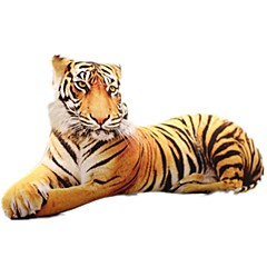 hesapli -Doldurulmuş Oyuncaklar Minder Yastıklar Oyuncaklar Köpekler Tiger 3D Hayvanlar Simülasyon Unisex Parçalar