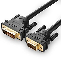 UGREEN DVI Кабель-переходник, DVI to VGA Кабель-переходник Male - Male 10.0M (30ft)