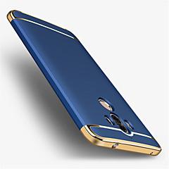 Недорогие Чехлы и кейсы для Huawei Mate-Кейс для Назначение Huawei Покрытие Кейс на заднюю панель Сплошной цвет Твердый ПК для Mate 9 Mate 9 Pro Huawei