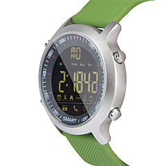 hhy ex18 inteligente ceas bratara știri împinge luminos cadran profesional cronometru 50 de metri super impermeabil