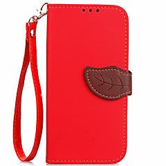 voordelige Hoesjes / covers voor Xiaomi-hoesje Voor Xiaomi Kaarthouder Portemonnee met standaard Flip Volledig hoesje Effen Kleur Hard PU-nahka voor Xiaomi Mi Max 2 Xiaomi Mi 6