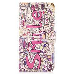 Недорогие Чехлы и кейсы для LG-Кейс для Назначение LG G3 LG LG G5 Бумажник для карт Кошелек со стендом Флип Чехол Слова / выражения Твердый Кожа PU для LG G6