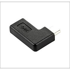 halpa Kaapelit ja adapterit-USB 3.1 tyyppi C Adapteri, USB 3.1 tyyppi C to USB 3.1 tyyppi C Adapteri Uros - Naaras