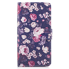 Case For SONY Xperia X XA Case Cover The Flowers Pattern PU Leather Cases for Sony Xperia X compact XZ Premium Z5 Premium M2 M4 Aqua XA1 Ultra
