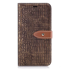 Case For Motorola Moto G5 Plus Moto G5 Case Cover Card Holder Wallet with Stand Flip Embossed Full Body Case Solid Color Hard PU Leather