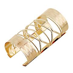Жен. Браслет цельное кольцо Браслет разомкнутое кольцо Мода Панк Rock Металлический сплав Сплав Бижутерия НазначениеВечерние Для шоппинга