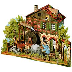 voordelige -3D-puzzels Papierkunst Beroemd gebouw DHZ Hard Kaart Paper Klassiek Kinderen Unisex Geschenk
