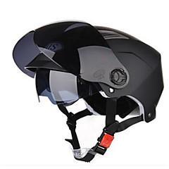 abordables Accesorios para Motos y Cuatriciclos-Jet Moldeado al Cuerpo Compacto Respirante Mejor calidad Media concha Deportes Los cascos de motocicleta