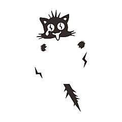 abordables Adhesivos y Calcomanías-Paisaje Animales De moda Pegatinas de pared Calcomanías de Aviones para Pared Calcomanías Decorativas de Pared Calcomanías Para Los