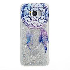 billige Galaxy S6 Edge Etuier-Etui Til Samsung Galaxy S8 Plus S8 Flydende væske Bagcover Drømme fanger Blødt TPU for S8 S8 Plus S7 edge S7 S6 edge S6 S5