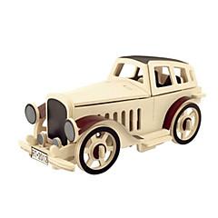 رخيصةأون -قطع تركيب3D تركيب خشبي النماذج الخشبية طيارة سيارة اصنع بنفسك 3D خشب كلاسيكي للأطفال للجنسين هدية