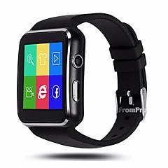 olcso Okos órák-General SIM kártya Bluetooth 4.0 iOS Android iPhone Kéz nélküli hívások Média kontroll Üzenet kontroll Kamera kontroll 128 MB Audió