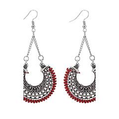 preiswerte Ohrringe-Damen Kronleuchter Tropfen-Ohrringe - Retro, Modisch, Euramerican Dunkelblau / Rot / Leicht Grün Für Alltag