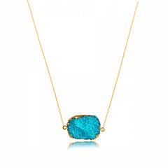 preiswerte Halsketten-Damen Anhängerketten / Ketten  -  Geometrisch, Einzigartiges Design, Anhänger Stil Rosa, Hellblau, Leicht Grün Modische Halsketten Für Weihnachts Geschenke, Party, Besondere Anlässe