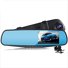 preiswerte Autozubehör-D790s 1080p Auto dvr 140 Grad Weiter Winkel 4.3 Zoll Autokamera mit G-Sensor / Parkmodus / Bewegungsmelder nein Auto-Recorder / Loop - Aufnahme / Auto On / Off / Eingebauter Mikrofon / Foto