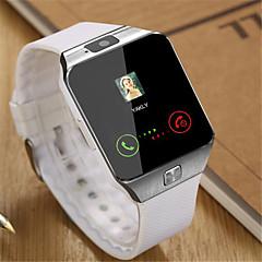 Ανδρικά Έξυπνο Ρολόι Ψηφιακό καουτσούκ Μπάντα Μαύρο Λευκή Καφέ
