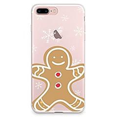 Kotelo iphone 7 6 joulu tpu pehmeä ohut takakannen kotelo kotelo iphone 7 plus 6 6s plus se 5s 5 5c 4s 4