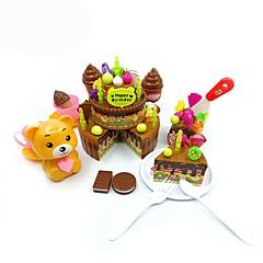 Kendin-Yap Seti Eğitici Oyuncak Oyuncak Mutfak Takımları oyuncak Gıdalar Kids 'Pişirici Cihazlar Oyuncaklar Oyuncaklar friut Kendin-Yap