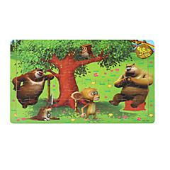 Bildungsspielsachen Holzpuzzle Spielzeuge Vogel andere Cartoon Shaped friut Unisex Stücke