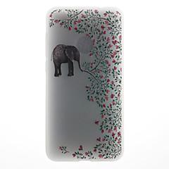 Чехол для huawei p8 lite (2017) p10 чехол для крышки слон шаблон 3d ремень для молока tpu материал телефон чехол для huawei p10 lite p10