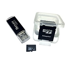 お買い得  メモリカード-4GB マイクロSDカードTFカード メモリカード Class6 AntW5-4