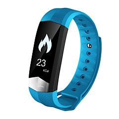 billige Smarture-Smart Armbånd Touch-skærm Pulsmåler Vandafvisende Brændte kalorier Skridttællere Træningslog Distance Måling Information Beskedkontrol