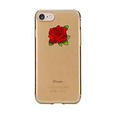 ケースfor iphone 7 6 flower tpuソフトウルトラシンバックカバーケースカバーiphone 7 plus 6 6s plus se 5s 5 5c 4s 4