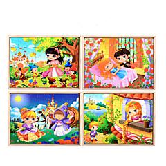 Bildungsspielsachen Holzpuzzle Spielzeuge Zeichentrick andere friut Unisex Stücke