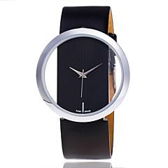 Dames Skeleton horloge Modieus horloge Polshorloge Unieke creatieve horloge Vrijetijdshorloge Dress horloge Chinees Kwarts PU Band Snoep