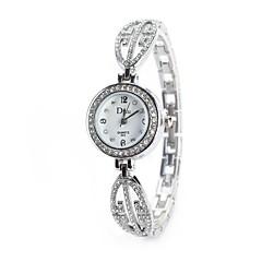 Dames Dress horloge Modieus horloge Polshorloge Gesimuleerd Diamant Horloge Chinees Kwarts imitatie Diamond Legering Band Vintage