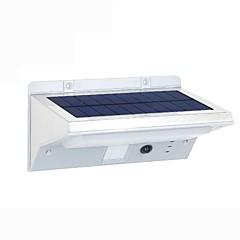 abordables Sistemas de Alarma-Fh0609-pir 21led luces solares jardín solar sensor de cuerpo humano lámpara de pared hogar infrarrojo sensor balcón al aire libre llevado