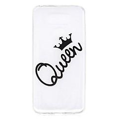 Pokrowiec na lg g6 pokrowiec królowa deseń wysoki penetracja tpu materiał skórzany futerał na telefon