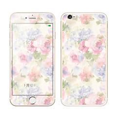 Недорогие Защитные пленки для iPhone 6s / 6 Plus-Защитная плёнка для экрана Apple для iPhone 6s Plus iPhone 6 Plus Закаленное стекло 1 ед. Защитная пленка для экрана и задней панели 3D