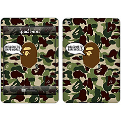 Skin Stickers For iPad Pro 12.9''  Scratch Proof Anti-Fingerprint PVC Camouflage Pattern Body Sticker 2.5D Curved edge Pattern iPad Pro 12.9''