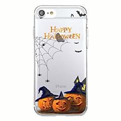 Za iphone 7plus kućište prekriva transparentni uzorak natrag slučajni slučaj Halloween mekom tpu za iPhone 6 6plus 6plus 6s 6 5 5s se