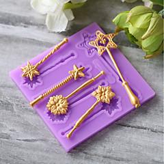 Cake Moulds voor Candy Siliconen Kinderen Verjaardag Nieuwjaar Thanksgiving Vakantie Baking Tool Creative Kitchen Gadget Noviteit Bruiloft