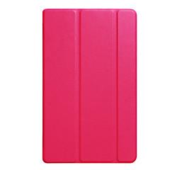 お買い得  タブレット用ケース-ケース 用途 Amazon フルボディーケース タブレットケース ソリッド ハード PUレザー のために